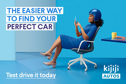 The easier way to find your perfect car. Test drive it today at Kijiji Autos